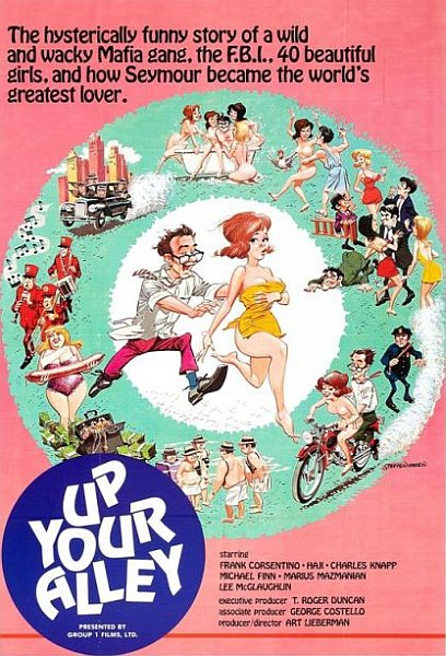 ������ ����� / ����� �� ������ �������� / Up Your Alley  (1971) VHSRip